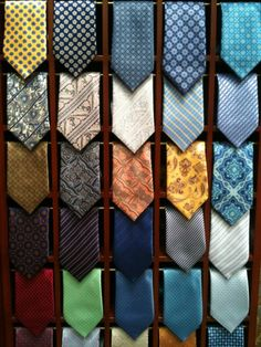 New ties, just in. Softer than you could fathom.