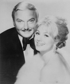Actor Jack Cassidy and actress, singer Shirley Jones