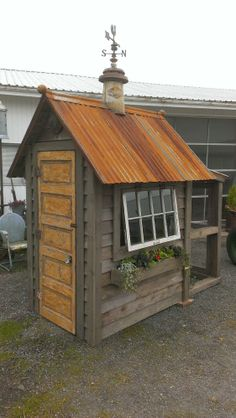 Charming Coop Made From Reclaimed Materials. Bob Bowling Rustics Of Whidbey  Island, Washington. Building A Chicken ...