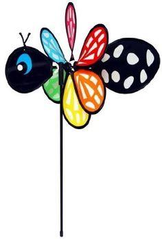 Amazon.com: In the Breeze Butterfly Baby Bug Garden Spinner: Patio, Lawn & Garden