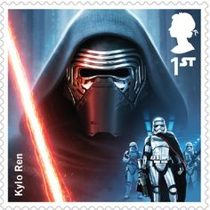 Britain's Royal Mail Celebrates The Force Awakens With A New Set Of Stamps