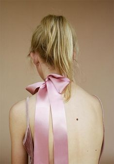 Pink bow or bow choker to add a little umph to an outfit!