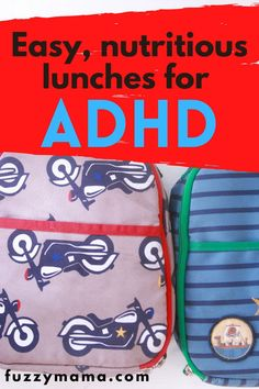 Healthy Lunches for an ADHD Diet | Great ideas for feeding your hungry ADHD Kiddo to make it through a successful afternoon. Food matters and what you feed your ADHD kid for lunch can have a huge positive effect. Lunch Box Recipes, Whole Food Recipes, Healthy Bars, Healthy Snacks, Adhd Diet, Peanut Butter Sandwich, Healthy School Lunches, Food Out, Fruit And Veg