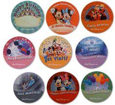 Disney Celebration Buttons, A Fun Freebie! ~ WDW Hints