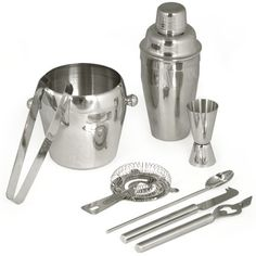 TecTake® Cocktailshaker Cocktail Set 8-teilig Shaker Bar Mixer TecTake http://www.amazon.de/dp/B00DS67OY8/ref=cm_sw_r_pi_dp_XYeiub11WR7S5