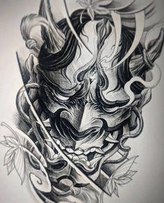 japanese tattoos symbols and meaning Samurai Maske Tattoo, Hannya Maske Tattoo, Samurai Tattoo Sleeve, Oni Tattoo, Shogun Tattoo, Irezumi Tattoos, Japanese Demon Tattoo, Japanese Sleeve Tattoos, Japanese Hannya Mask