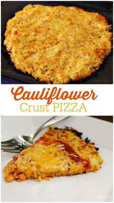 Cauliflower Crust Pi