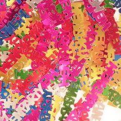 Shiny Hen Party Word Confetti    £0.97