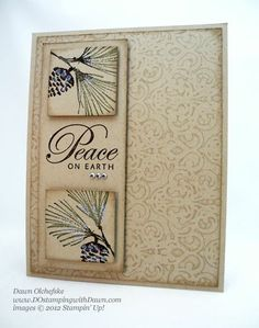 watercolor winter by stampin up | visit dostamping typepad com