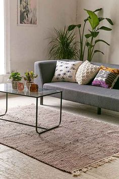 Shop Urban Outfitters collection of rugs, featuring the latest styles and trends. Whether you're looking for a fun print or a shaggy feel we've got you covered.