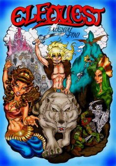 Elfquest, miss this series!! <3