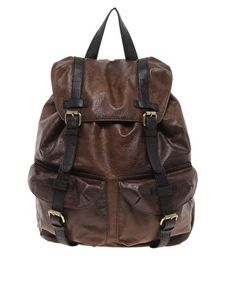 getting this bag! $45 Enlarge ASOS Leather Look Backpack