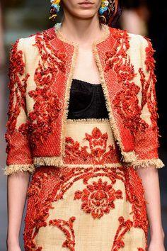 styleisviral: Dolce & Gabbana Spring 2013