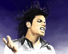 Michael Jackson in Bad Tour by darkdamage.deviantart.com on @deviantART
