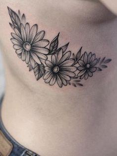 Flower tattoo idea