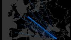 With refugees fleeing from Syria and other countries, EU countries are starting to exceed their limits for asylum applications. Matt Francis, aka Wannabe Data Rock Star, mapped out where these migrants are coming from and where they are headed. Eu Countries, Other Countries, Exceed, Asylum, Syria, Rock, Star, Country, Rural Area