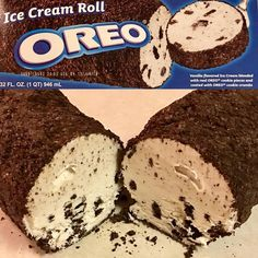 Vanilla flavored ice cream blended with real Oreo cookie pieces and coated with Oreo cookie crumbles. Luckily the Roll… Oreo Cookie Cake, Oreo Cookies, Oreo Flavors, Oreo Ice Cream, Flavor Ice, Cookie Crumbs, Food Drawing, Vanilla Flavoring, Cookies And Cream