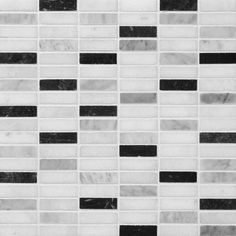 """Marble Systems 6-Pack 12"""" x 12"""" Ms Multicolor Marble Natural Stone Wall Tile"""