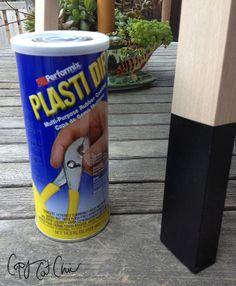 use Plasti Dip on an Ikea Bekvam Stool  | Copy Cat Chic