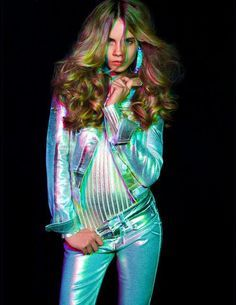Image result for holographic fashion photo shoot
