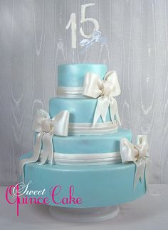 quinceanera cakes | Blue Quinceanera Cake | Flickr - Photo Sharing!