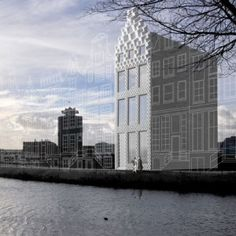 Amsterdam architects plan  3D-printed canal house