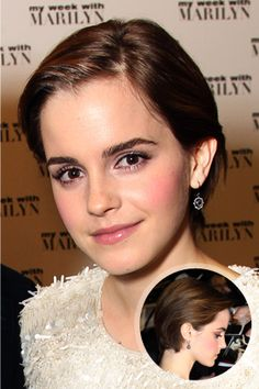 Emma Watson - This one is cute but mine would probably be messier.