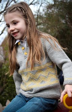 Looking for your next project? You're going to love Charlie Pullover by designer TanisKnits.