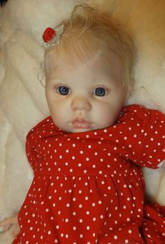 Lifelike Reborn  Baby Girl Mary From Chanel Donna Rubert