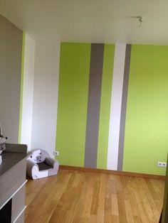 5 id es d co pour marier plusieurs couleurs de peinture - Chambre garcon vert et gris ...