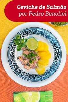 Uma deliciosa receita do Pedro Benoliel, para todos os apaixonados por salmão.