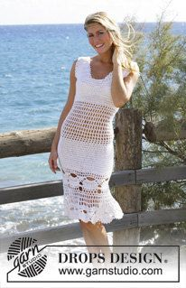 Crochet Women's Alpaca and Cotton Summer Maxi by Silkwithasizzle