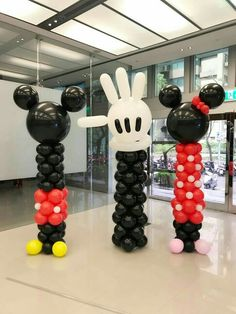Fiesta Mickey Mouse, Mickey Mouse Balloons, Mickey Mouse First Birthday, Mickey Mouse Baby Shower, Theme Mickey, Mickey Mouse Clubhouse Birthday Party, Mickey Mouse Parties, Mickey Party, Miki Mouse