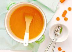 5 or less: Pompoen-wortelsoep