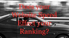 Your website speed can affect your Google ranking.  Here's a way to fix that.