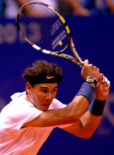"""Be positive and keep working."" - Rafa Nadal  #TennisRunsInOurBlood www.babolat.com"