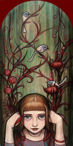 """""""A menudo en mis sueños hay algún TIPO de multi-nivel de estructuras o paisajes que tengo que recorrer y explorar"""".  - See more at: http://culturacolectiva.com/pinturas-de-cuento-de-kelly-vivanco/#sthash.fnCGWczs.dpuf"""