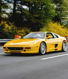 The Ferrari F355 Berlinetta is built from 1994 to 1999. It is a mid-engined, rear wheel drive V8-powered two-seat coupe, targa or convertible.