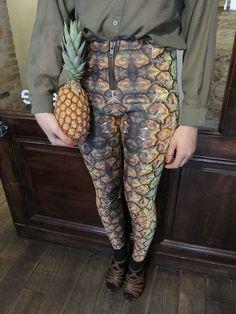 pineapple leggins