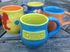 Personalized Name Mug Custom Mug by NorthernWoodsStudio on Etsy
