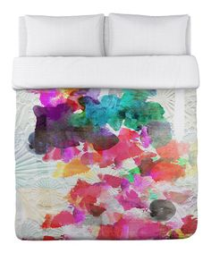 Take a look at this Inside Her Eyes Duvet Cover by OneBellaCasa on #zulily today!