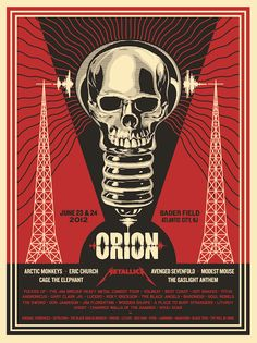 orion festival | jun 23-24, 2012, atlantic city, nj | by @Shepard Fairey #ShepardFairey