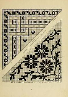 The Priscilla filet crochet book; a collection ...: