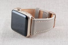 This listing is for a pair of Apple Watch band for the series 1, 2 and 3 Apple Watch in 38mm. (Watch not included) This watchband is handmade to order with the highest quality leathers available and the finest quality linen thread. Hand cut and hand stitched with the saddle stitch method