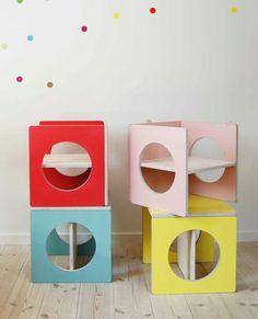 Multiusos silla o estantes al alcance de los pequeños