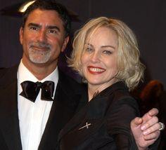 #10. Sharon Stone & Phil Bronstein