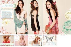 Japonaise Inspiration- Feminine Florals #freepeople  #fashion