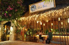 The Luna Blue Bar | Calle 26 Norte, between 5th & 10th Ave - Another bar with swings!