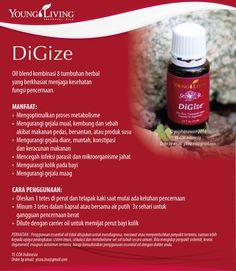 DiGize Essential Oils www.mamaesensial.com #younglivingindonesia