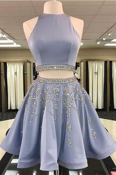 Discount Magnificent Short Homecoming Dress, Prom Dress Blue, Two Pieces Homecoming Dress - Homecoming Dresses Short Homecoming Dresses Two Piece Beautiful Homecoming Dresses Prom Dresses Blue Source by sheenaberglund - 2 Piece Homecoming Dresses, Prom Dresses 2018, A Line Prom Dresses, Prom Party Dresses, Dress Prom, Wedding Dresses, Summer Dresses, Party Gowns, Evening Dresses